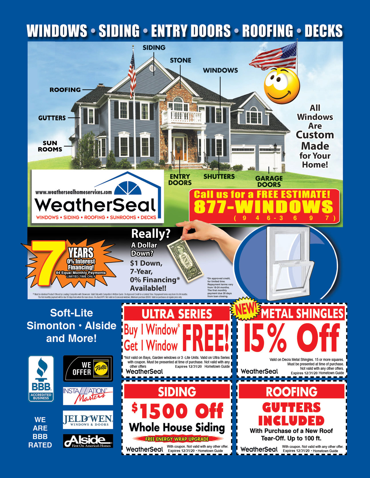 WeatherSeal Home Services Specials